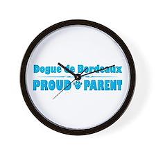 Dogue Parent Wall Clock