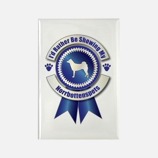 Showing Norrbottenspets Rectangle Magnet (100 pack