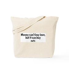 nuts (money) Tote Bag