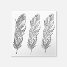 Three Feathers Sticker