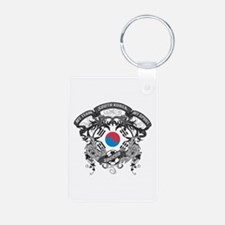 South Korea Soccer Keychains