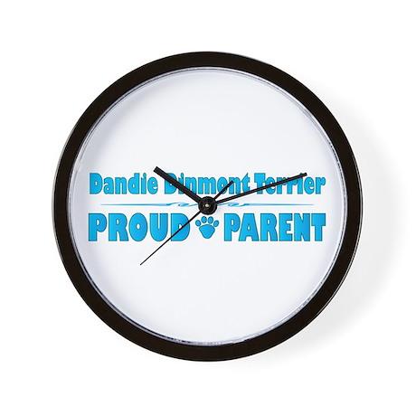 Dandie Parent Wall Clock