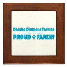 Dandie Parent Framed Tile