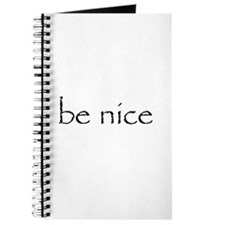 Be Nice - Journal