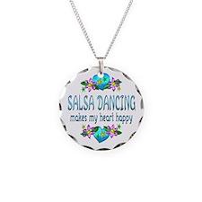 Salsa Heart Happy Necklace