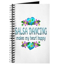 Salsa Heart Happy Journal