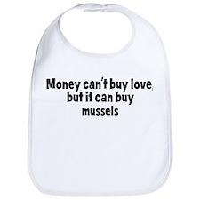 mussels (money) Bib