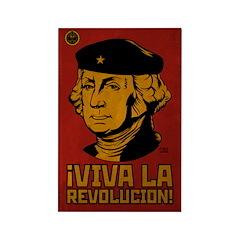 Viva La Revolucion! Rectangle Magnet