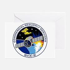 SpX-2 Logo Greeting Cards (Pk of 10)