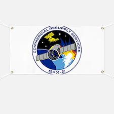 SpX-2 Logo Banner