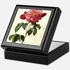 Rosa Gallica Keepsake Box