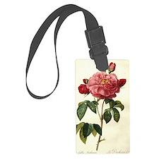 Rosa Gallica Luggage Tag
