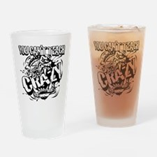 Bulldogs crazy Drinking Glass