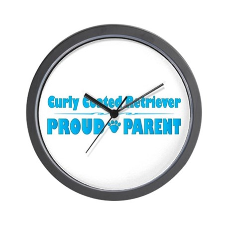 Curly Parent Wall Clock