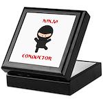 Ninja Conductor Keepsake Box