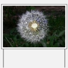 Dandelion Yard Sign