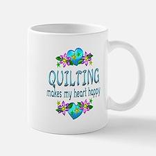 Quilting Heart Happy Mug