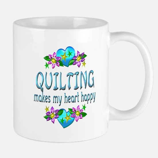 Quilting Heart Happy Mug