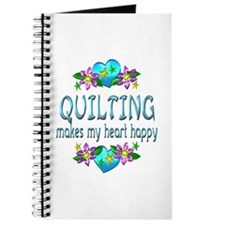 Quilting Heart Happy Journal