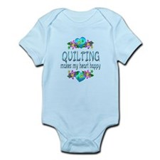 Quilting Heart Happy Infant Bodysuit