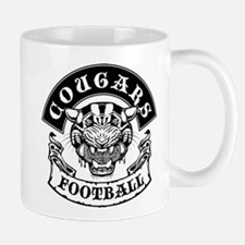 cougars football rocker Mugs