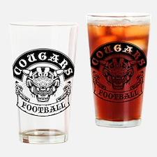 cougars football rocker Drinking Glass