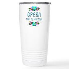Opera Heart Happy Travel Mug