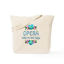 Opera Heart Happy Tote Bag