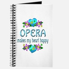 Opera Heart Happy Journal