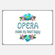 Opera Heart Happy Banner