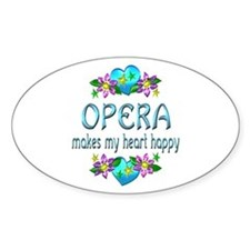 Opera Heart Happy Decal
