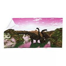 Brachiosaurus Beach Towel