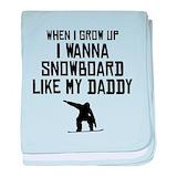 Snowboarding Blanket