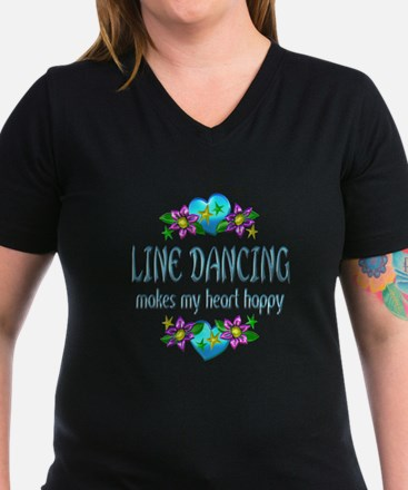 Line Dancing Heart Hap Shirt