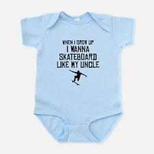 Skateboard Like My Uncle Body Suit
