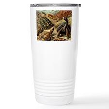 Beautiful Turtles Art Travel Mug