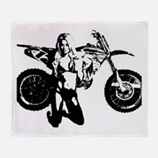 msbike Throw Blanket