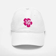 Pink Hibiscus Tropical Hawaii Flower Baseball Baseball Cap