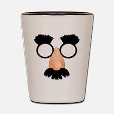 Mustache Nose Glasses Shot Glass