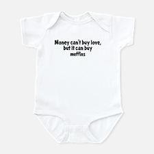 muffins (money) Infant Bodysuit