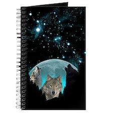 Wolves Twilight Harvest Moon Journal