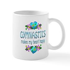 Gymnastics Heart Happy Mug
