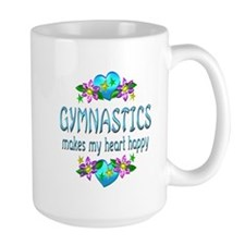 Gymnastics Heart Happy Mug