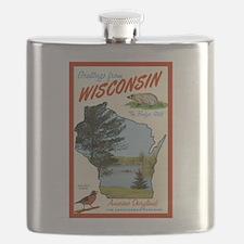 retro wisconsin Flask