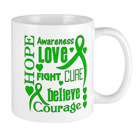 Bile Duct Cancer Hope Words Mug