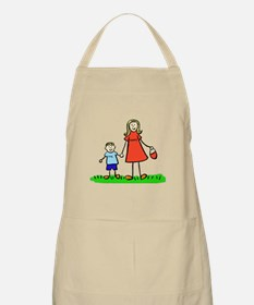 Mother and Son (Blond) Apron