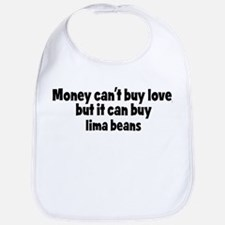 lima beans (money) Bib