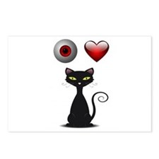 LOVE CATS Postcards (Package of 8)