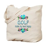 Golf Canvas Totes