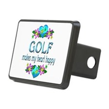 Golf Heart Happy Hitch Cover